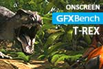 GFXBench 3.0 T-Rex onscreen