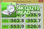 CrystalDiskMark 5.1.2 x64 4K Q32T1 read