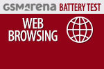 GSMArena Battery Test Web browsing