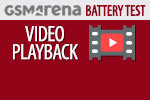 GSMArena Battery Test Video playback
