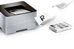 Стоимость печати Цена печати одного листа А4 на лазерном монохромном принтере