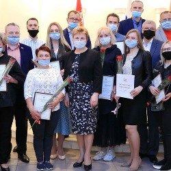 НИКС награжден за победу над коронавирусом
