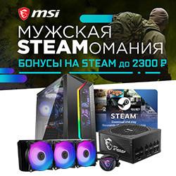 MSI - Мужская STEAMо - мания!