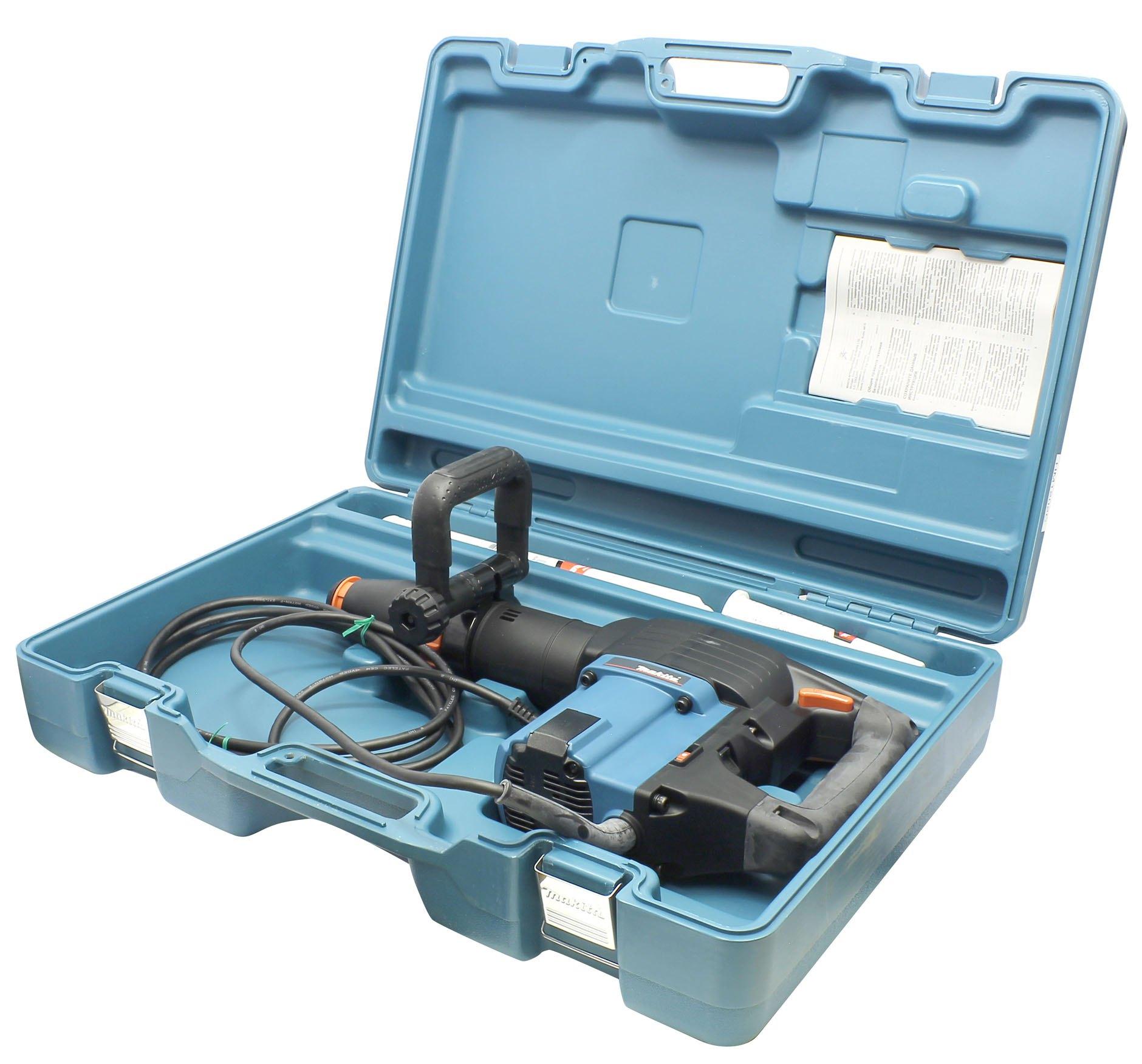 Makita HM1202C Отбойный молоток (1450 Вт, 21.9 Дж, 1900 уд/мин, SDS-Max, регулятор, кейс)