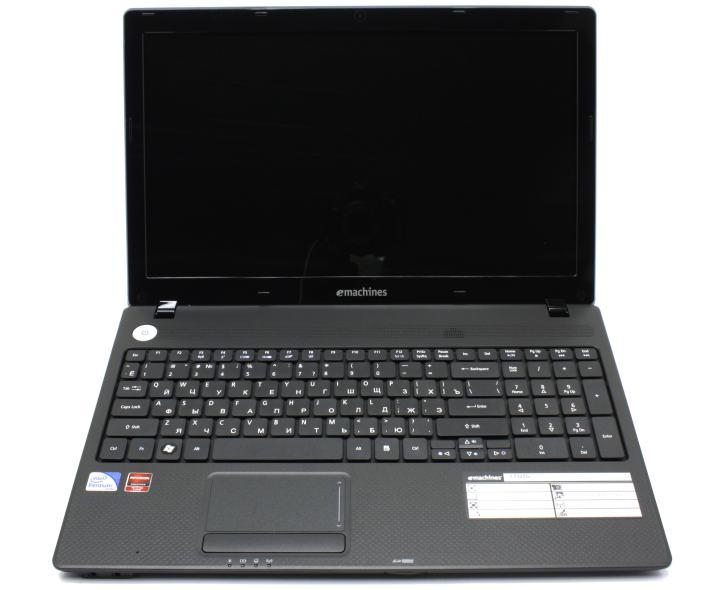 Acer eMachines E732ZG-P622G25Mikk, вид раскрытого ноутбука