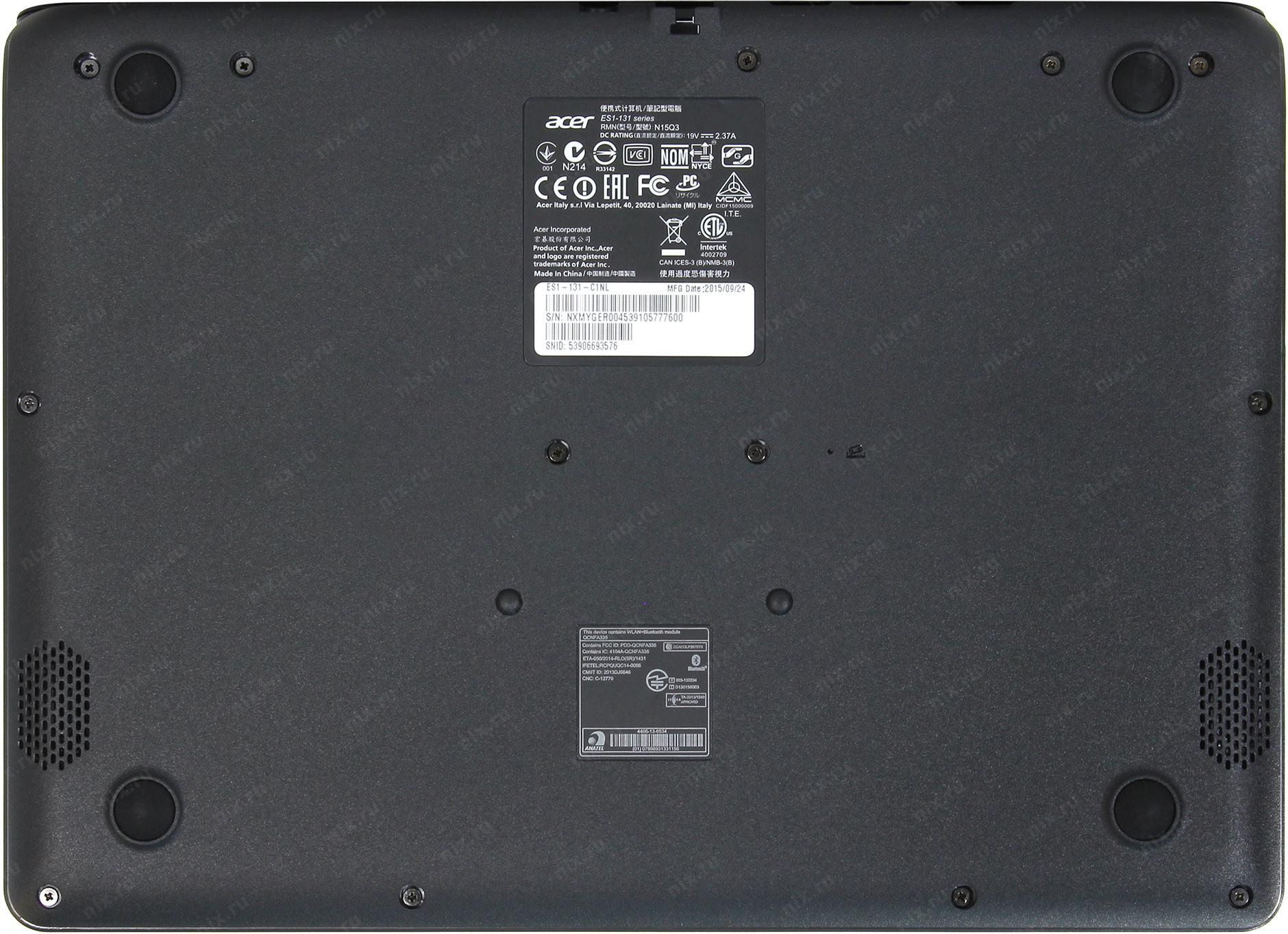 Acer Aspire Es1 131 C1nl