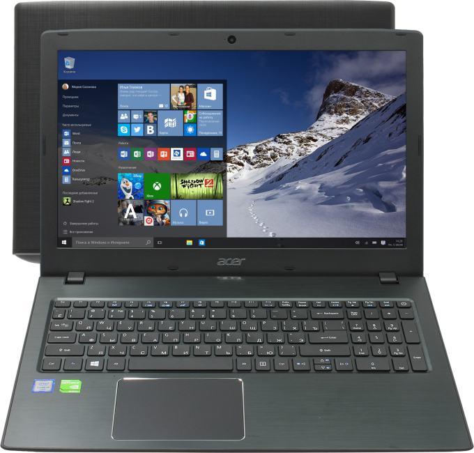 Acer TravelMate P2 TMP259-MG-55XX, вид раскрытого ноутбука