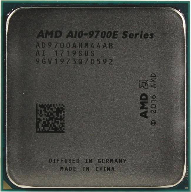 AMD 7th Gen A10-9700E APU with Radeon R7 Series, вид сверху