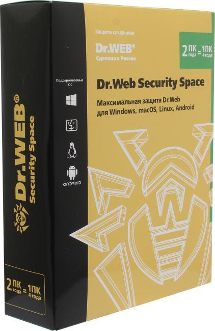Доктор Веб Dr.WEB Security Space Pro, вид основной