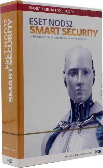 ESET NOD32 Smart Security NOD32-ESS-RN(BOX3)-1-1, вид основной