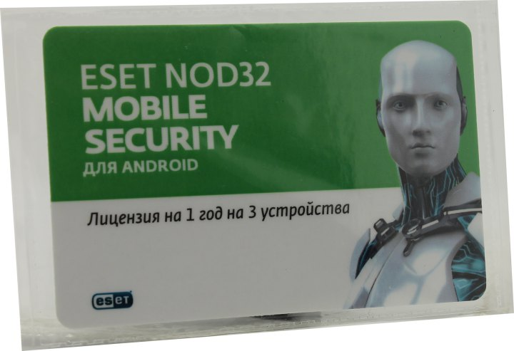 ESET NOD32 Mobile Security, вид основной