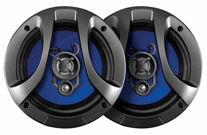 Колонки автомобильные Digma DCA-M602 160Вт 90дБ 4Ом 16см (6.5дюйм) (ком.:2кол.) коаксиальные двухполосные