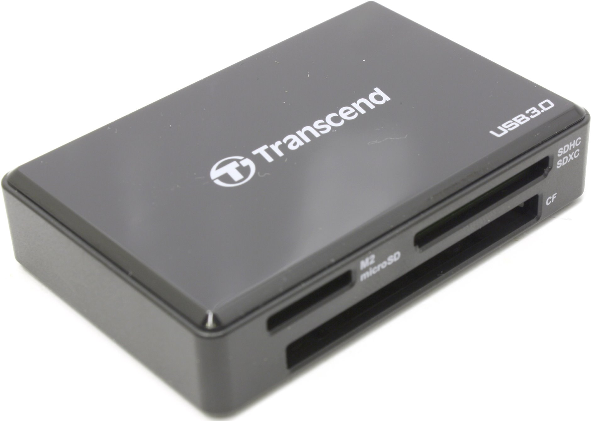 Transcend Usb 30 Card Readers Rdf8 Black Reader