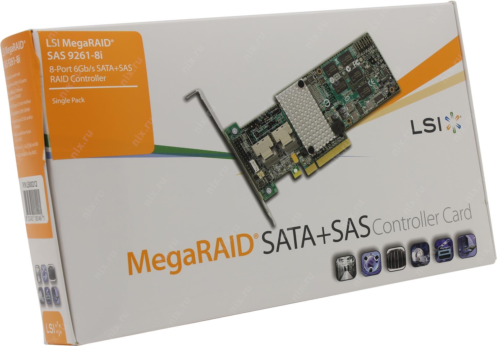 MegaRAID SAS 9261-8i