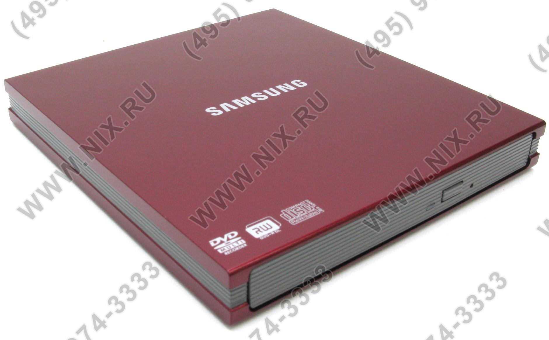 DVD RAM & DVD±R/RW & CDRW Samsung SE-S084B/RSRN RedEXT USB2.0(RTL) 5x&8(R9 6)x/8x&8(R9 6)x/6x/8x&24x/24x/24x