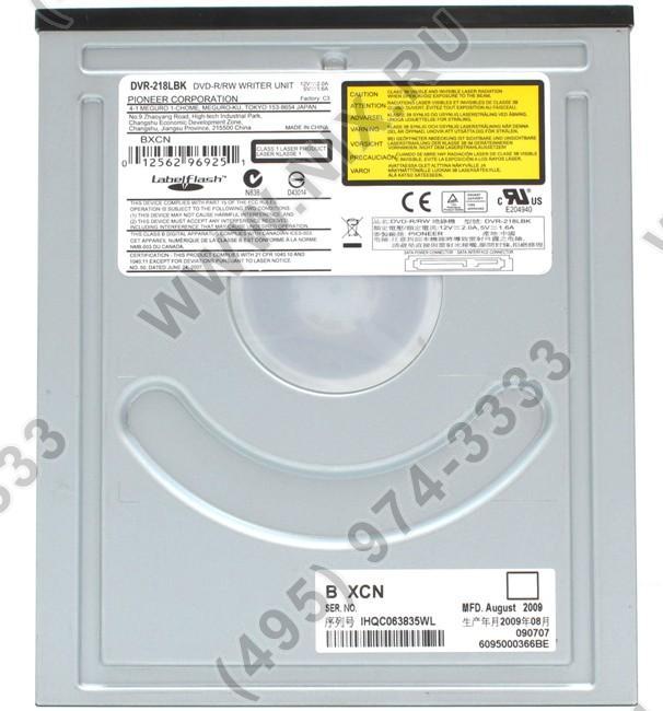 Pioneer dvd-rw dvr-218l ata device drivers for mac.