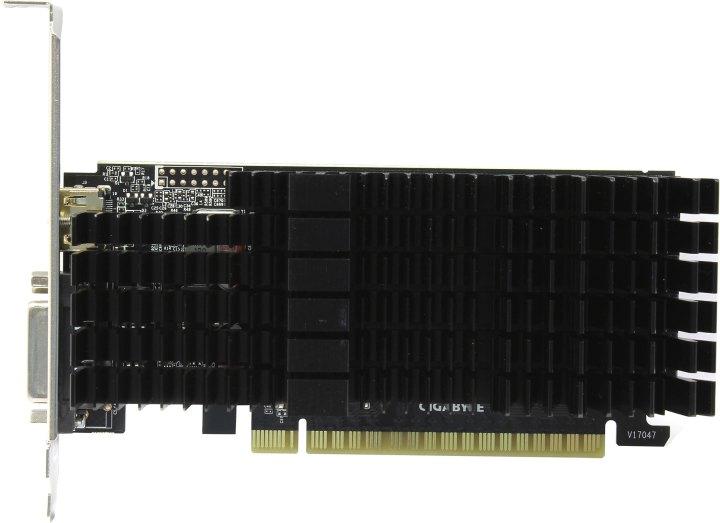 GIGABYTE GV-N710D5SL-2GL, вид сверху