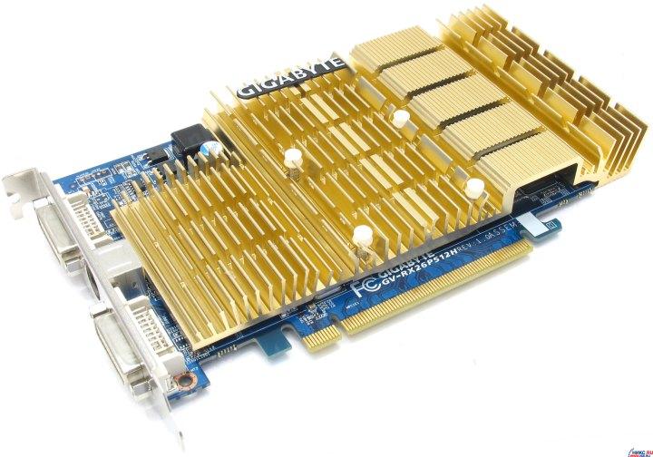 Скачать драйвер gigabyte gv rx26p512h