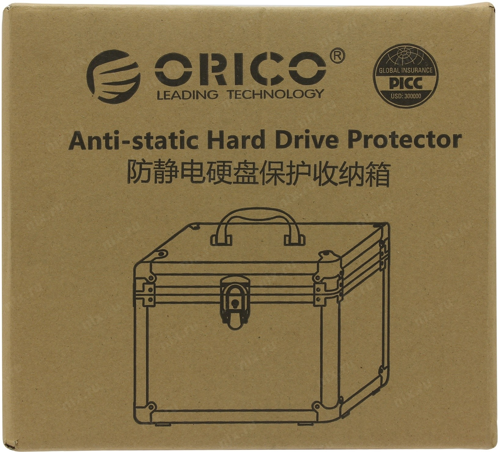 35quot Orico Hard Drive Protection Box Bsc35 05 Aluminum 25 35 Inch Sv