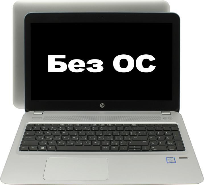 HP ProBook 450 G4, вид раскрытого ноутбука