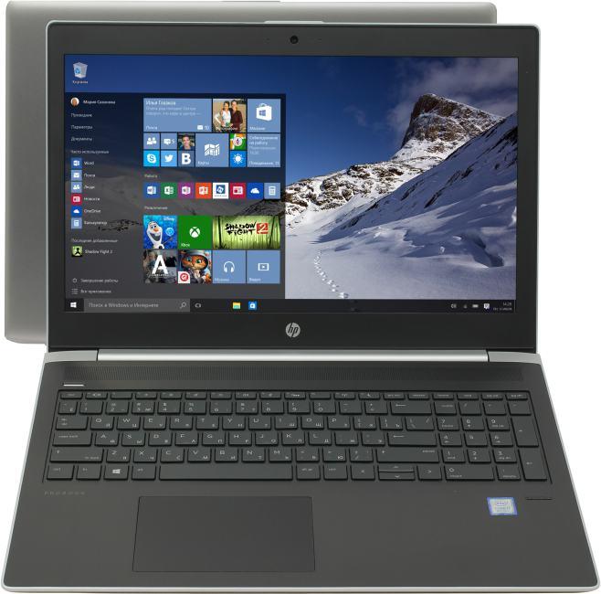 HP ProBook 450 G5, вид раскрытого ноутбука