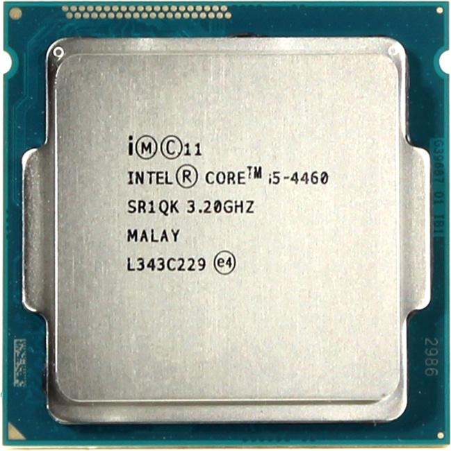 INTEL Core i5 4-го поколения Core i5-4460 Processor, вид сверху