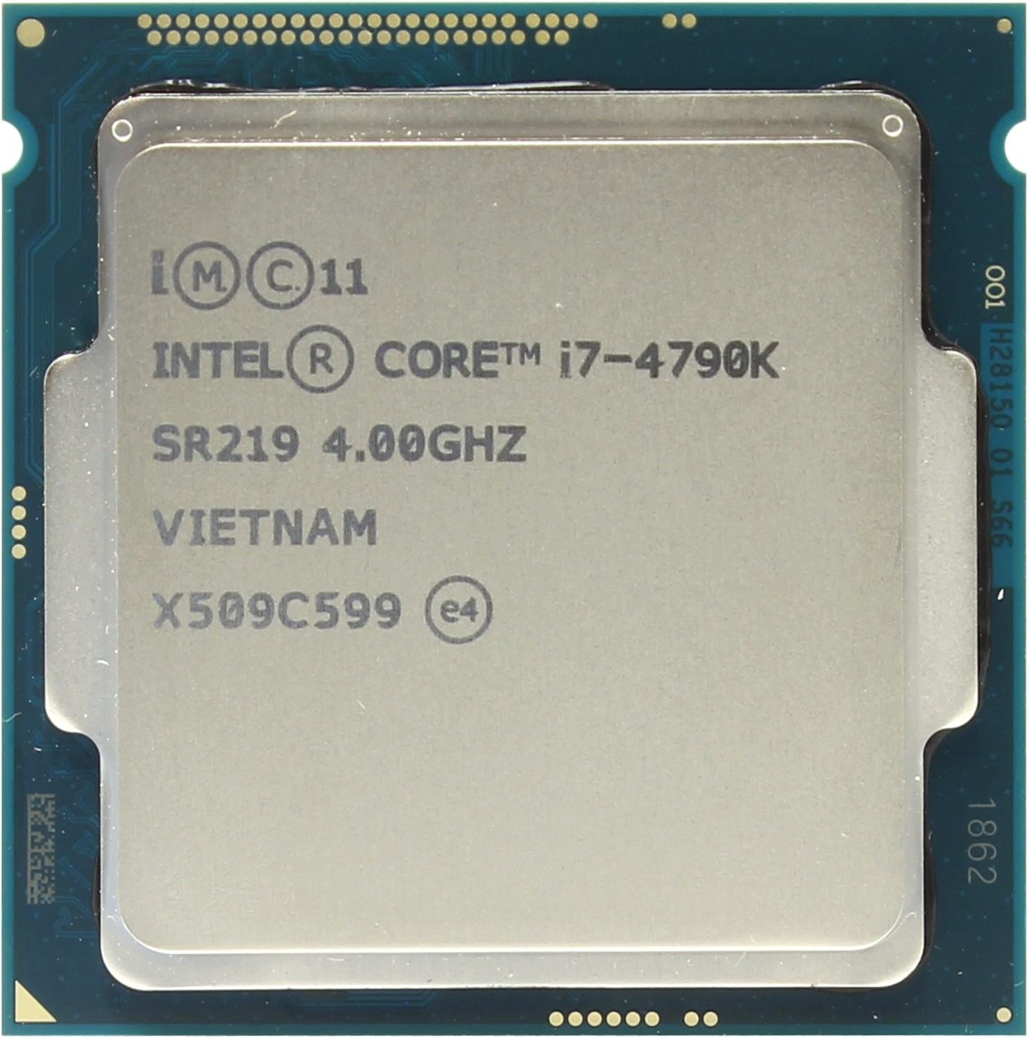 Intel Core I7 4790k Processor Oem 4790 34 Box Socket 1150