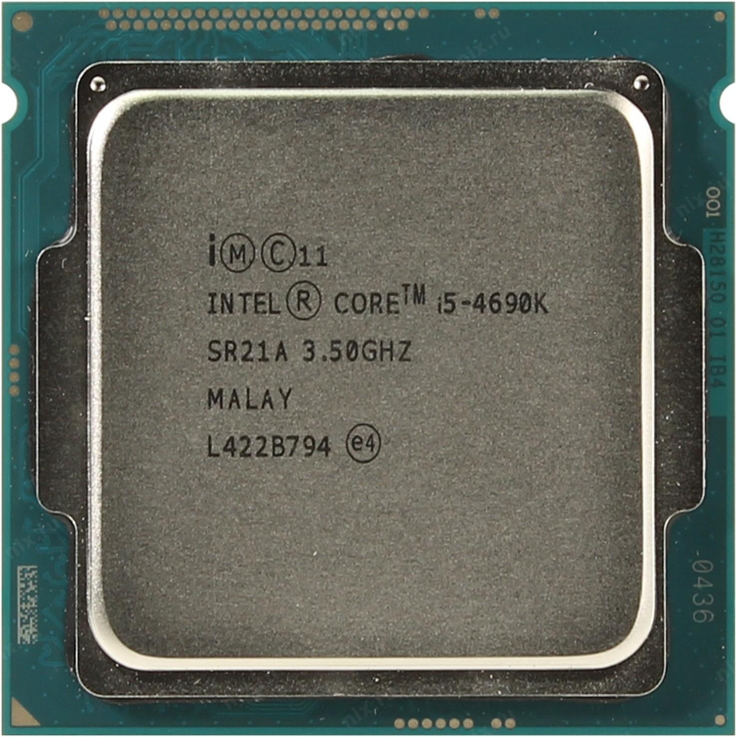 Core i5 4-го поколения Core i5-4690K Processor