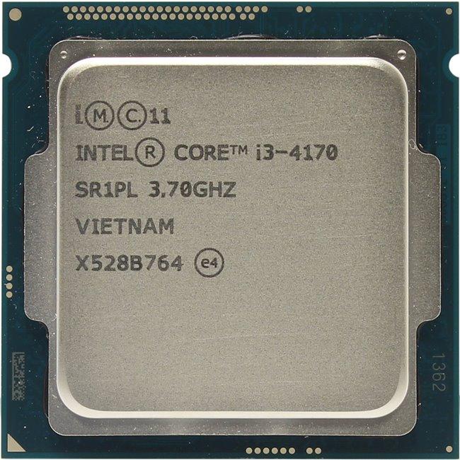 INTEL Core i3 4-го поколения Core i3-4170 Processor, вид сверху
