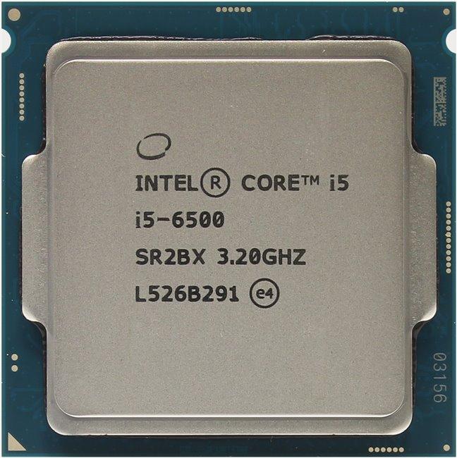 INTEL Core i5 6-го поколения Core i5-6500 Processor, вид сверху