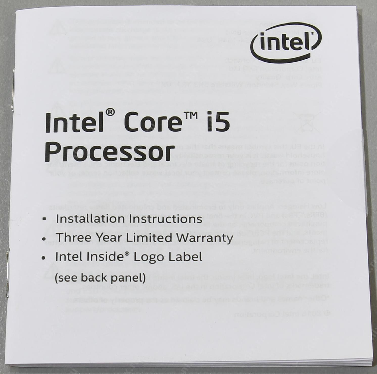 Intel Core I5 6600 Processor Box 33ghz Cache 6mb Socket Lga 1151 Skylake Series