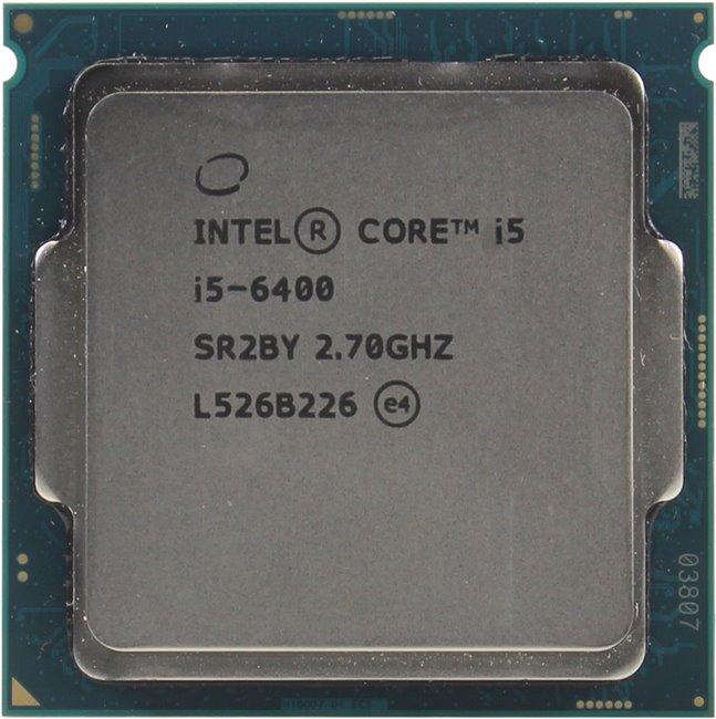 INTEL Core i5 6-го поколения Core i5-6400 Processor, вид сверху