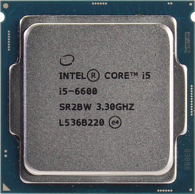 INTEL Core i5 6-го поколения Core i5-6600 Processor, вид сверху