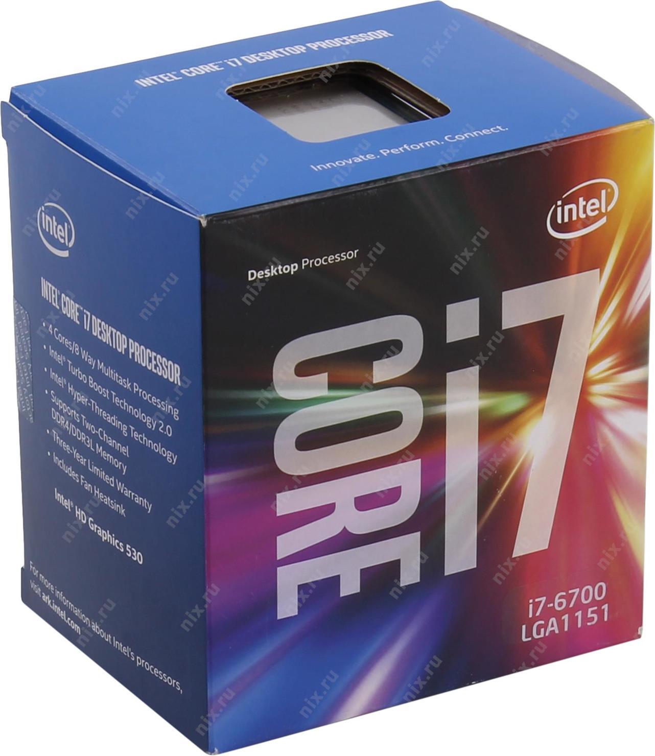 Процессор INTEL Core i7-6700 Processor - купить, сравнить ...