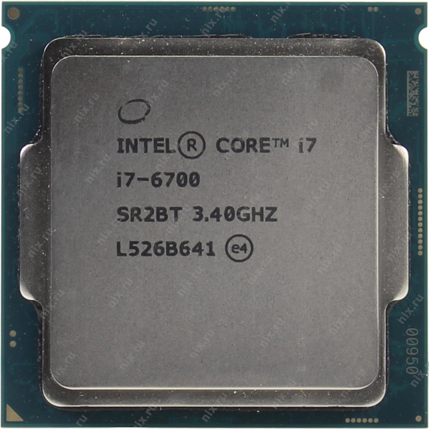 969ec4dd9229b Процессор INTEL Core i7-6700 Processor OEM — купить, цена и характеристики,  отзывы