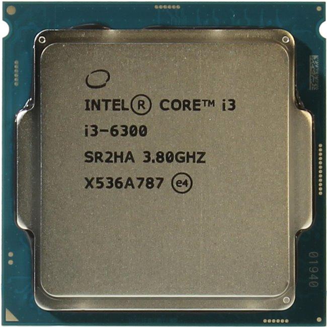 INTEL Core i3 6-го поколения Core i3-6300 Processor, вид сверху