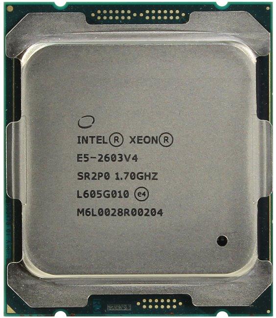 INTEL Xeon Processor E5-2603 v4, вид сверху