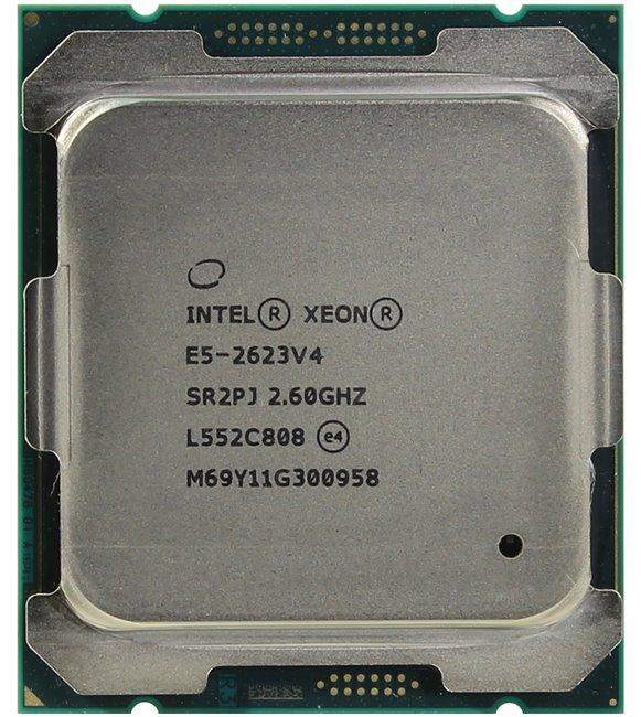 INTEL Xeon Processor E5-2623 v4, вид сверху
