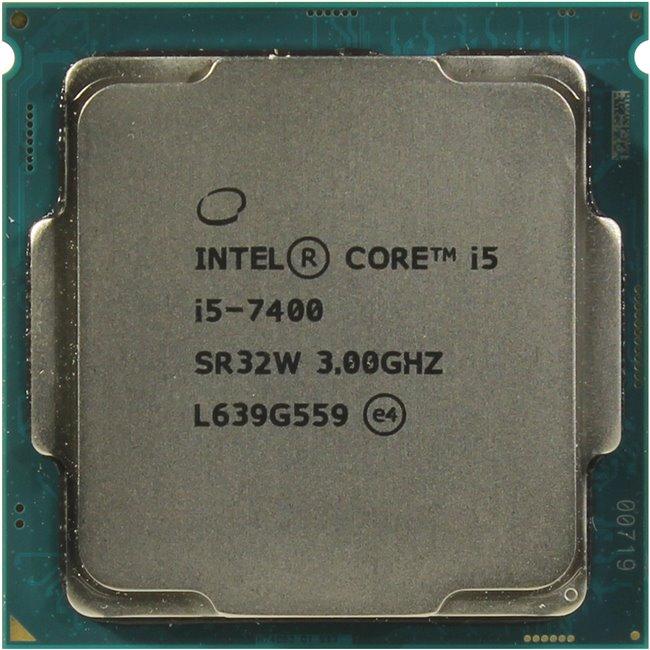 INTEL Core i5 7-го поколения Core i5-7400 Processor, вид сверху