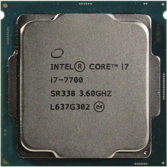 INTEL Core i7 7-го поколения Core i7-7700 Processor, вид сверху