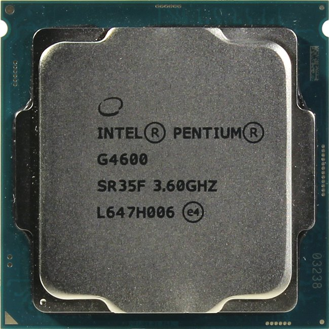 INTEL Pentium Processor G4600, вид сверху