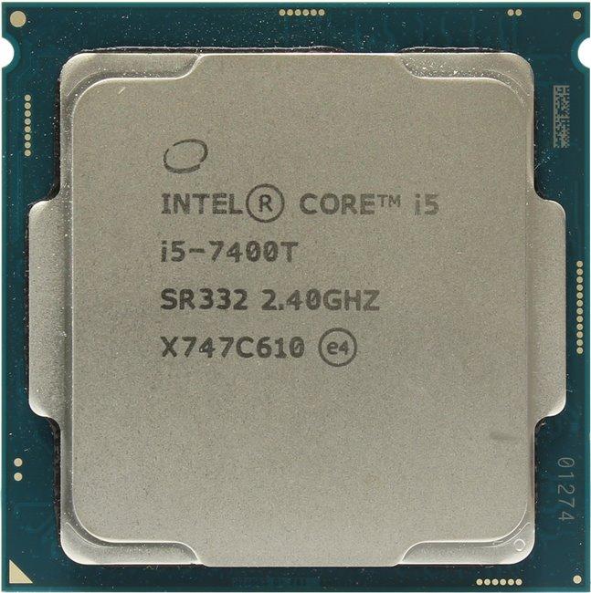 INTEL Core i5 7-го поколения Core i5-7400T Processor, вид сверху