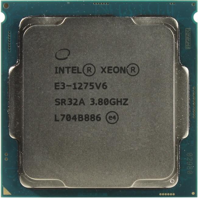 INTEL Xeon Processor E3-1275 V6, вид сверху