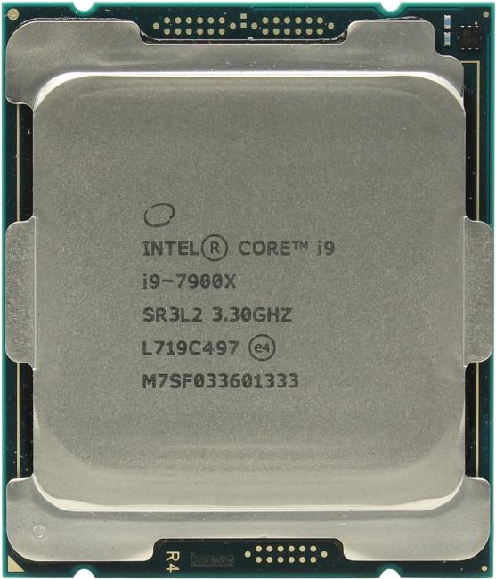 INTEL Core i9 7-го поколения Core i9-7900X Processor, вид сверху