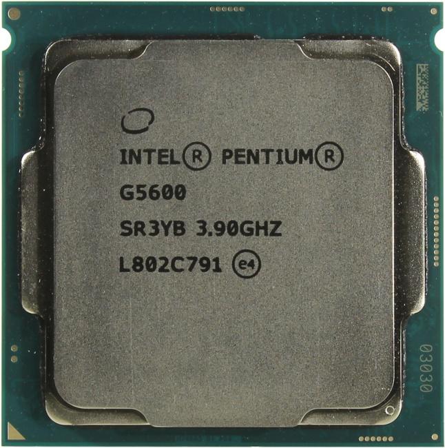 INTEL Pentium Gold Processor Series Pentium Gold G5600 Processor, вид сверху
