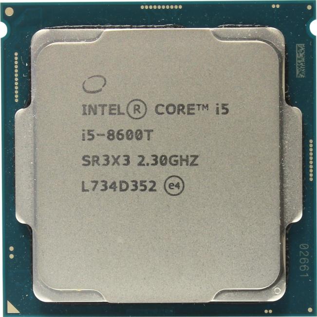 INTEL Core i5 8-го поколения Core i5-8600T Processor, вид сверху