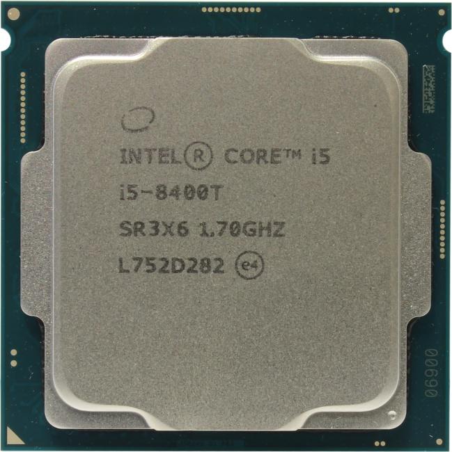 INTEL Core i5 8-го поколения Core i5-8400T Processor, вид сверху