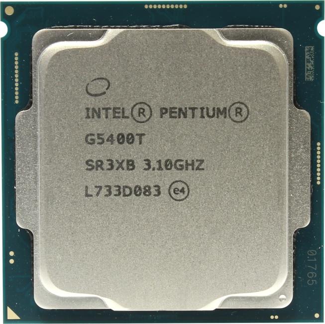 INTEL Pentium Gold Processor Series Pentium Gold G5400T Processor, вид сверху