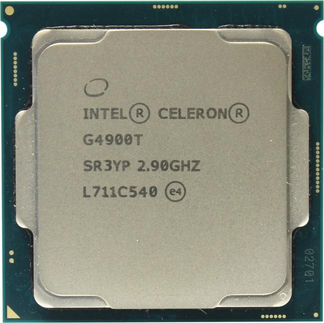 INTEL Celeron G series Celeron Processor G4900, вид сверху