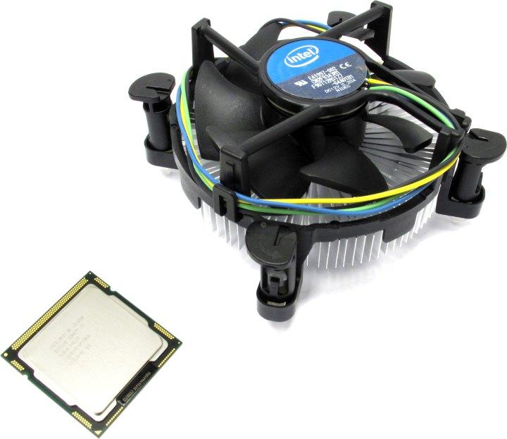 INTEL Core i5-650 Processor, вид основной